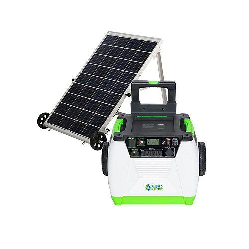 1800-Watt Solar Portable Generator
