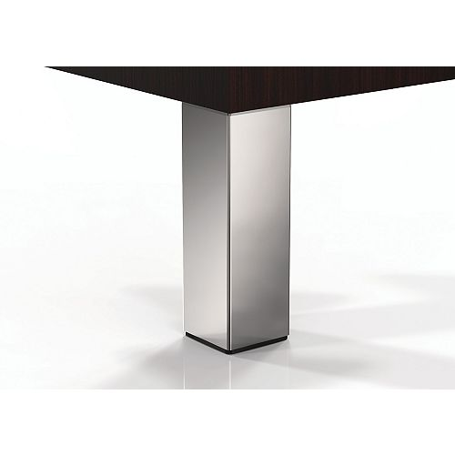 Richelieu (4-Pack) Adjustable Furniture Leg, 11 3/4 in (300 mm), Chrome