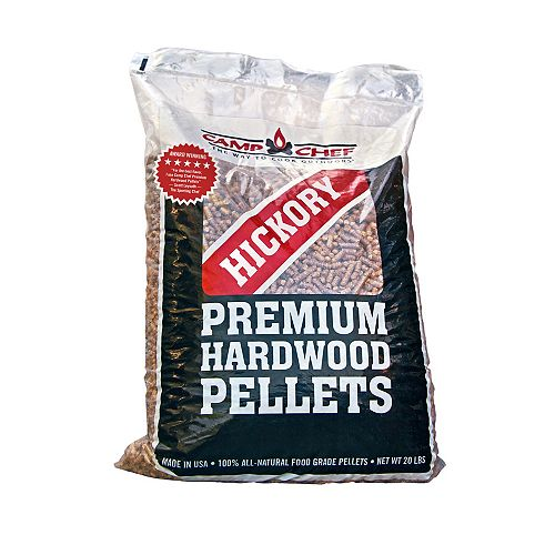 Camp Chef Hickory BBQ Pellets (20lbs.)