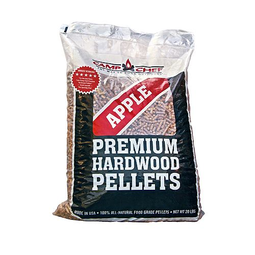 Camp Chef Apple Premium Hardwood Pellets (20lbs)