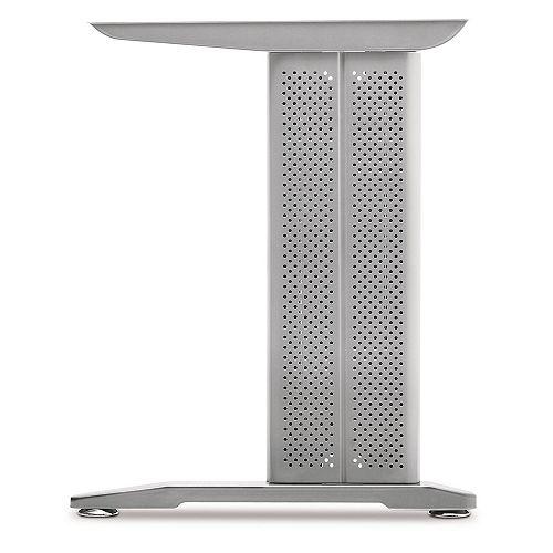 (2-Pack) Desk C-Leg, Gray