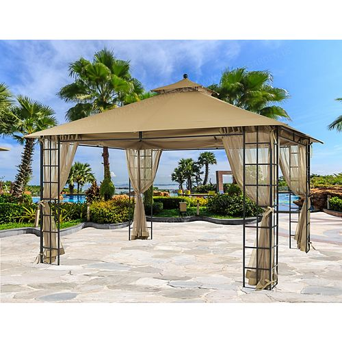 10 ft. x 12 ft. Melody Gazebo