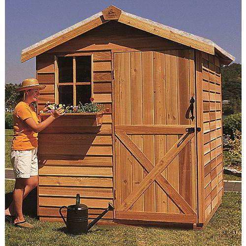 jardinier cabanon cèdre 8x10
