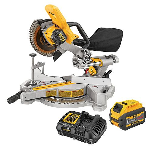 20V MAX Mitre Saw With 60V FlexVolt Battery Kit