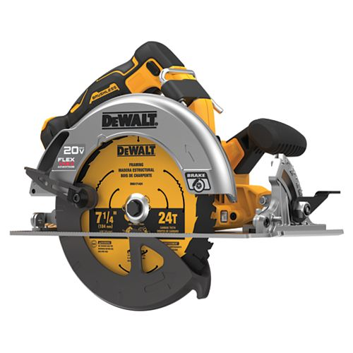 20V MAX with FLEXVOLT ADVANTAGE 7-1/4-inch Circular Saw