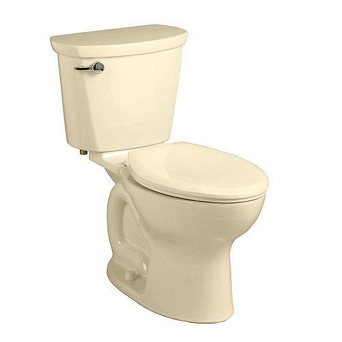 American Standard Cadet Pro 2-Piece 1.6 GPF Single Flush Elongated Toilet in Bone