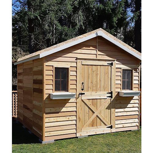maison de cèdre 10x8