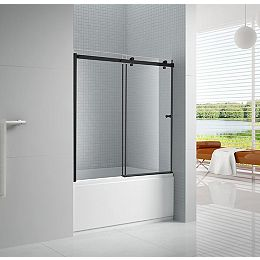 Primo 60 po x 57 po. Porte de baignoire coulissante sans cadre