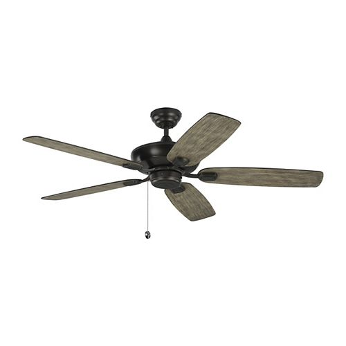 """Colony Max 52"""" Indoor/Outdoor Aged Pewter Ceiling Fan"""