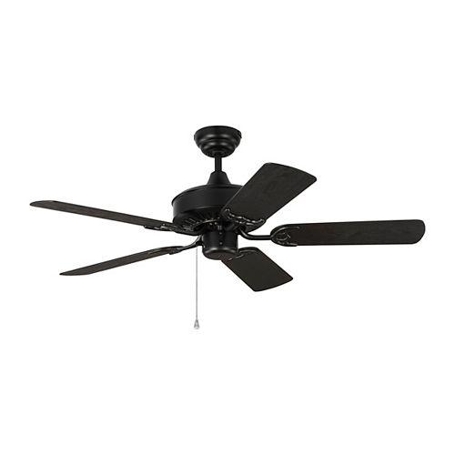 Haven 44 in. Indoor/Outdoor Matte Black Ceiling Fan