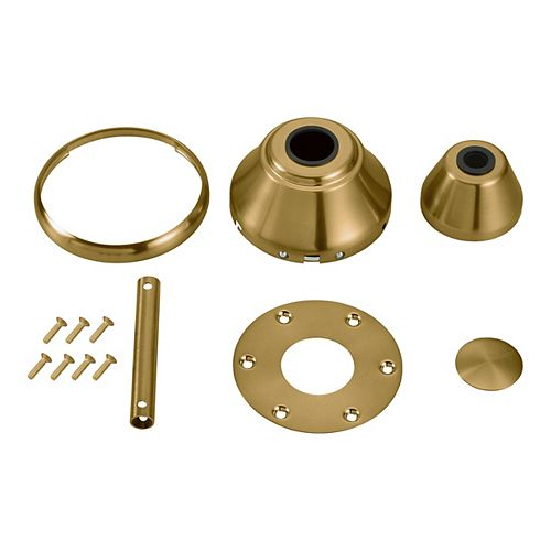 Monte Carlo Fans Maverick 88/99 Custom Finish Kit Burnished Brass CFK - BBS