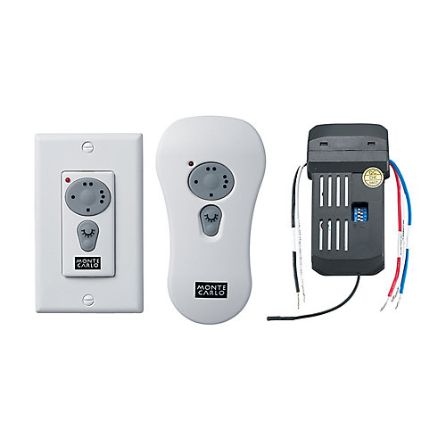Wall/Hand-Held White Speed and Downlight Switch