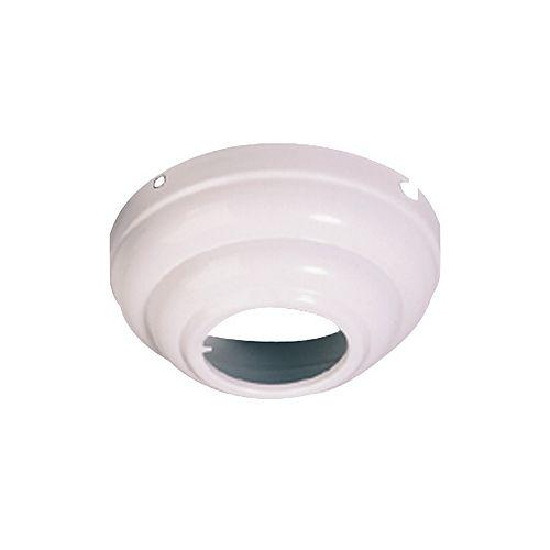 Adaptateur pour plafond incliné, blanc