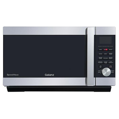 Galanz Galanz 1.2 cu.ft. SpeedWave 3-in-1 Convection Oven, Microwave in Stainless Steel