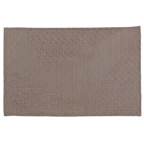 IH Casa Decor Abstract Vinyl Placemat (Chocolate)- 12 X 18 In. (Set Of 12)