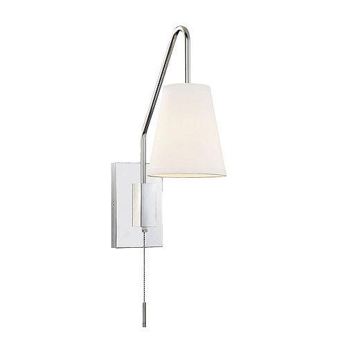 Filament Design 1-Light Polished Nickel Sconce- 6.125 inch
