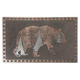 Rubber Mat (Evergreen Bear)