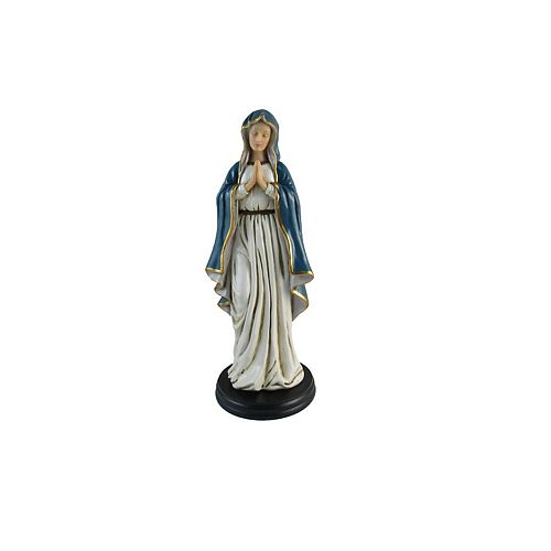 Polyresin Lady Of Peace Mary Figurine  10 In.