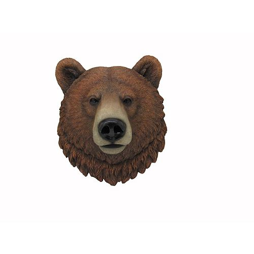 IH Casa Decor Polyresin Cali Grizzly Bear Figurine - 16
