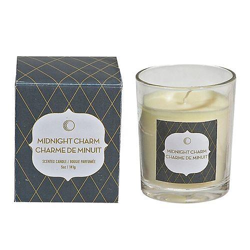5 Ozjar Candle In Gift Box (Midnight Charm) - 5 Oz