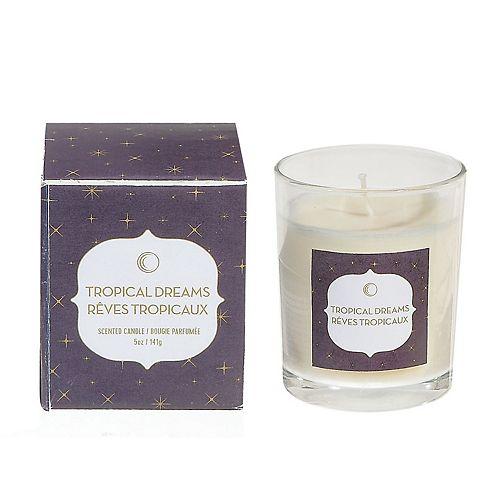 5 Ozjar Candle In Gift Box (Tropical Dream) - 5 Oz