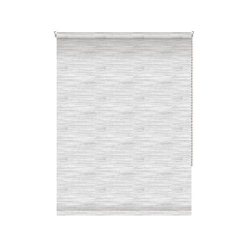 Translucent Roller Shade - Chainless with Curved Valance - 24-inch X 72-inch