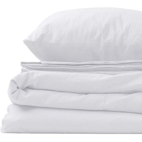 100% Cotton Organic Pre-Washed 200 TC Soft Comfortable Breathable Pillowcases Bed Sheet Set