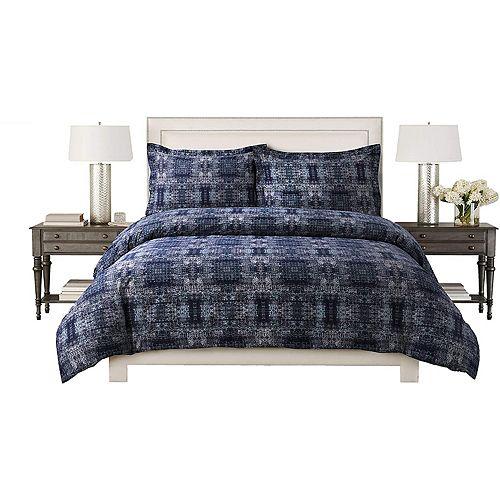 Home Depot 100% Cotton Sateen 220 TC Fabric Ultra Soft All Seasons 3-Piece Comforter Set