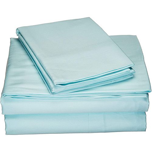 New Season Home Luxury Hotel Collection 1200TC 100% Pure Cotton Soft Long-Lasting Sheet Set Comfortable Bedding Set