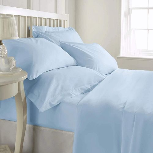 Luxury Hotel Collection 1200TC 100% Pure Cotton Soft Long-Lasting Sheet Set Comfortable Bedding Set