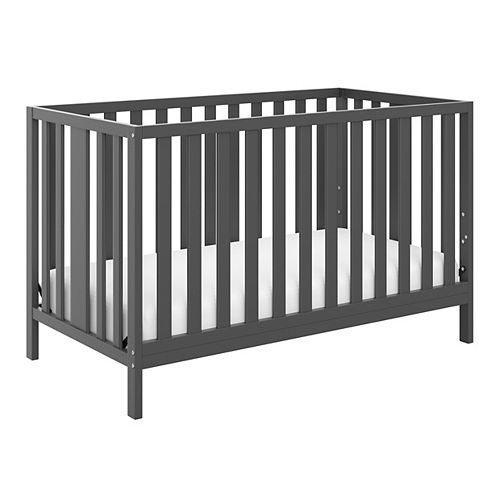 Pacific Grey 4-in-1 Convertible Crib