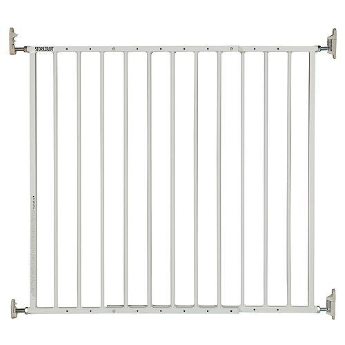 Barrière de sécurité Storkcraft en métal Blanc