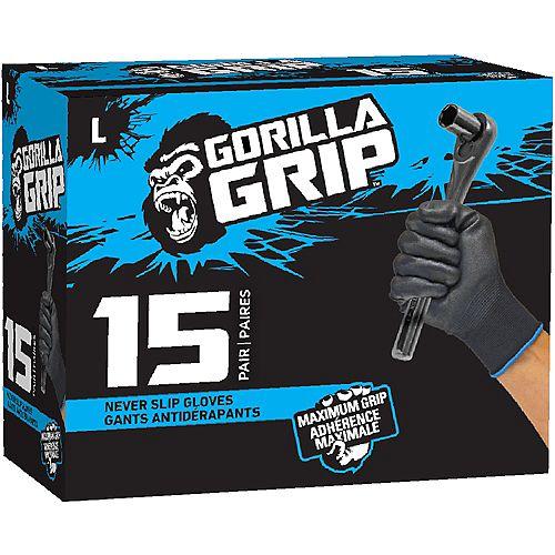 Gorilla Grip Multi-Purpose Gloves in Gift Box (15-Pairs)