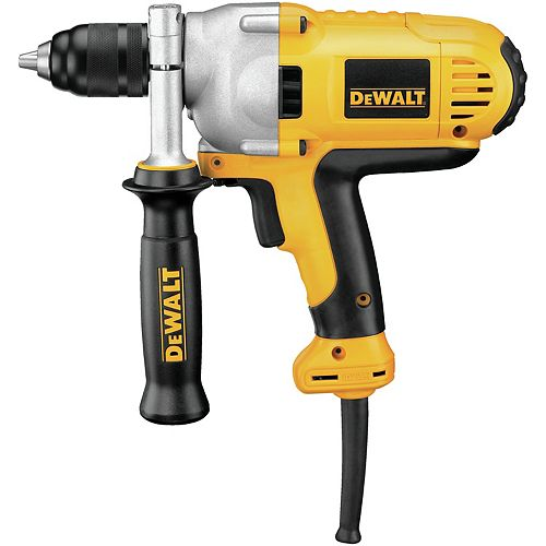HEAVY DUTY 1/2-INCH KEYLESS MID-HANDLE DRILL