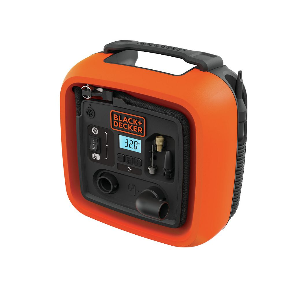 BLACK+DECKER 12V DC Multi-Purpose Inflator