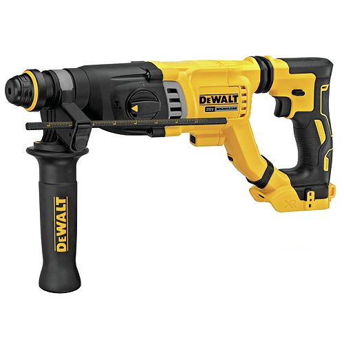 20V MAX XR BRUSHLESS 1-1/8-INCH SDS PLUS D-HANDLE ROTARY HAMMER (TOOL ONLY)