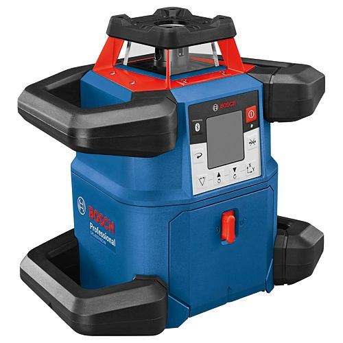 Bosch 18V Revolve 4000 Connected Self-Leveling Horizontal/Vertical Rotary Laser Level with Bluetooth