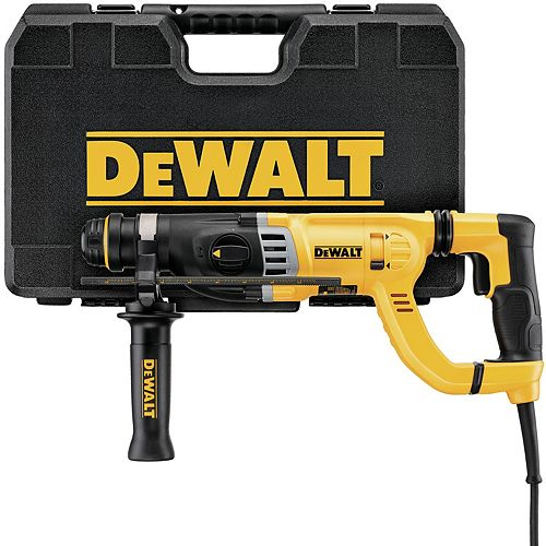 1-1/8-INCH D-HANDLE - THREE MODE HAMMER DRILL, 8.5 AMPS WITH SHOCKS