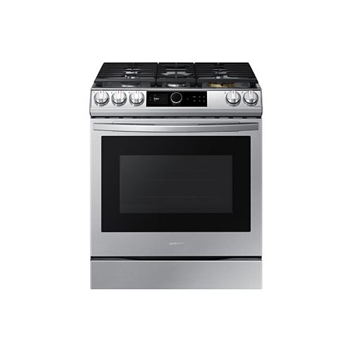 6.0 cu.ft. Slide-In Single Oven Gas Range with Air Fry in Fingerprint Resistant Stainless Steel