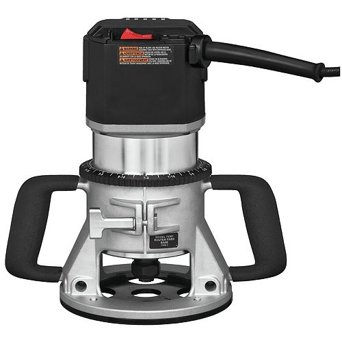 15 Amp 3-1/4 HP 5-Speed Corded Router
