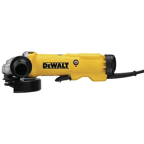 DEWALT 6-INCH (150 MM) HIGH PERFORMANCE PADDLE SWITCH GRINDER WITH NO LOCK-ON
