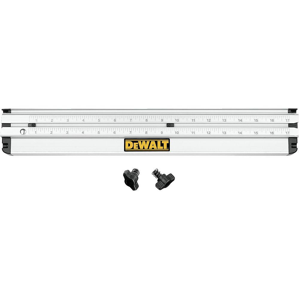 DEWALT 12-inch Dual-Port Rip Guide