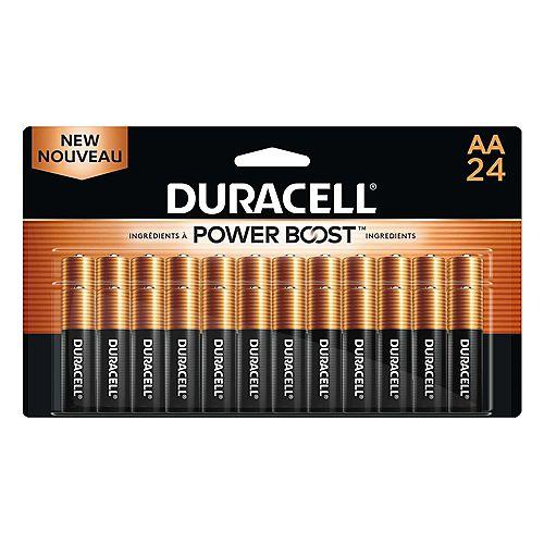 Duracell Coppertop Alkaline AA 24 count
