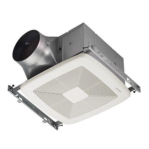 Broan-NuTone 80 CFM Single-speed ventilation fan, ENERGY STAR®