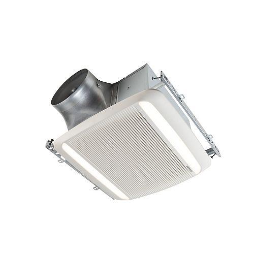 Broan-NuTone 80 CFM Single-speed LED light ventilation fan, ENERGY STAR®