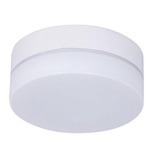 Trousse d'éclairage de ventilateur de plafond blanc en verre Climate