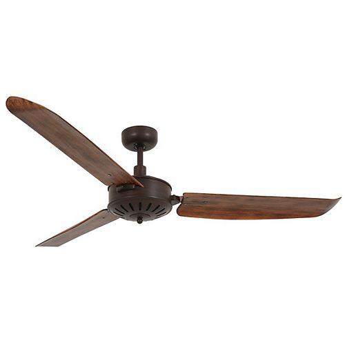 Carolina Oil Rubbed Bronze and Dark Koa 56-inch Ceiling Fan