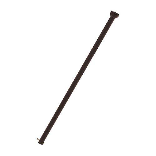 Fanaway Tige inférieure de 24 po (61,0 cm) au fini bronze frotté à l'huile