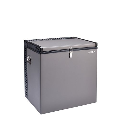 2.2 cu. ft. 3-Way LPG/110V/12V Portable Propane Freezer in Grey
