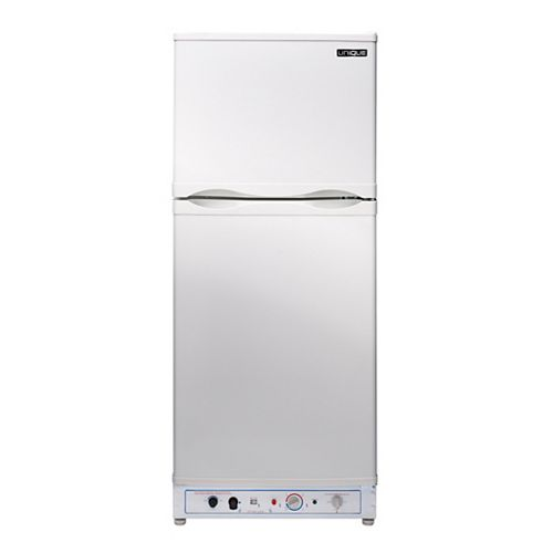 6.4 cu. ft. Propane Top Freezer Refrigerator with Direct Vent in White